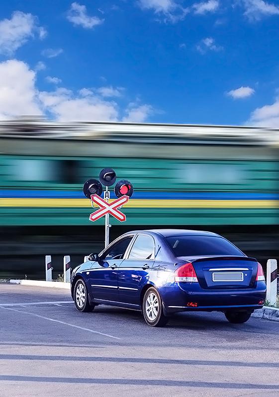 Нарушение правил движения через железнодорожные пути